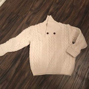 Janie &Jack Cotton Wool Classic Sweater